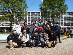 試験を終えて笑顔を見せる学生達!お疲れ様でした。