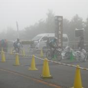 霧雨の中、ゴール!!